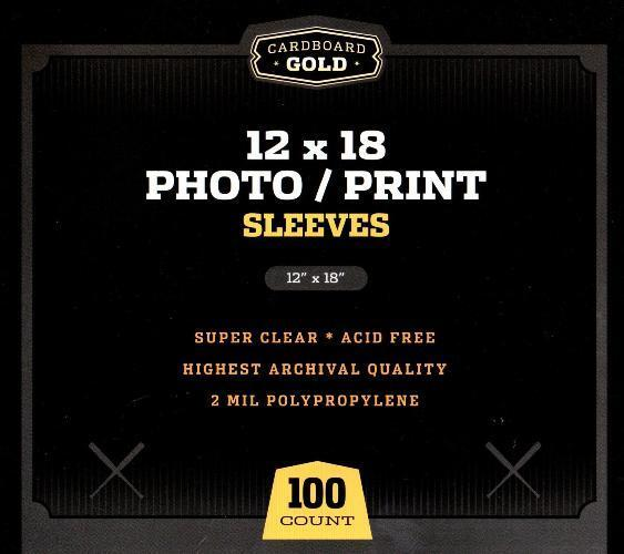 500 CBG 12 x 18 Print / Poster Archival Poly Soft Sleeves protectors holders