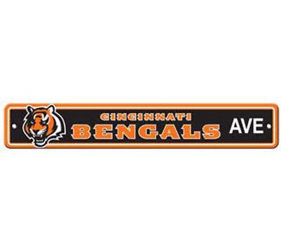Cincinnati Bengals Ave Street Sign 4