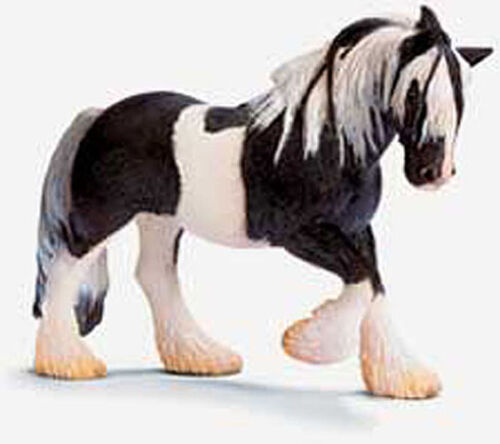 Schleich Tinker Mare and Foal retired model 13279 and 13295
