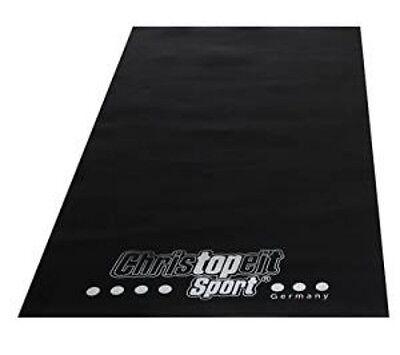 Christopeit Bodenschutzmatte für Heimtrainer 120x60x0,3 cm Sonderangebot