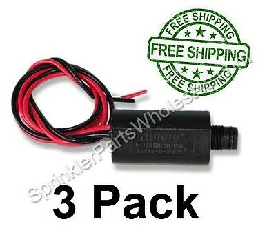Hunter 3 Pack 9 Volt DC Latching Solenoid 485200 SVC WVC XCH NODE Battery Timers