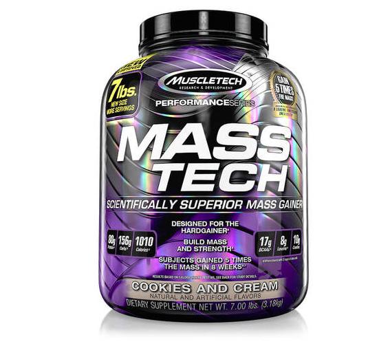 Muscletech  Mass-Tech  Scientifically Superior Mass Gainer