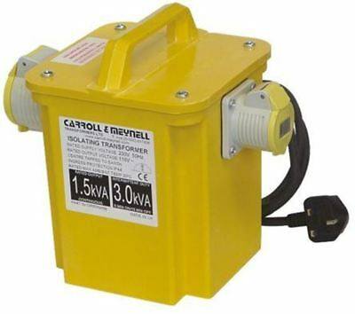 Carroll Meynell 1.65kva Cm Single Phase Isolation Transformer 230v Ac