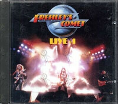 ACE FREHLEY/FREHLEY'S COMET LIVE + 1 OUT OF PRINT!! MEGAFORCE CD KISS