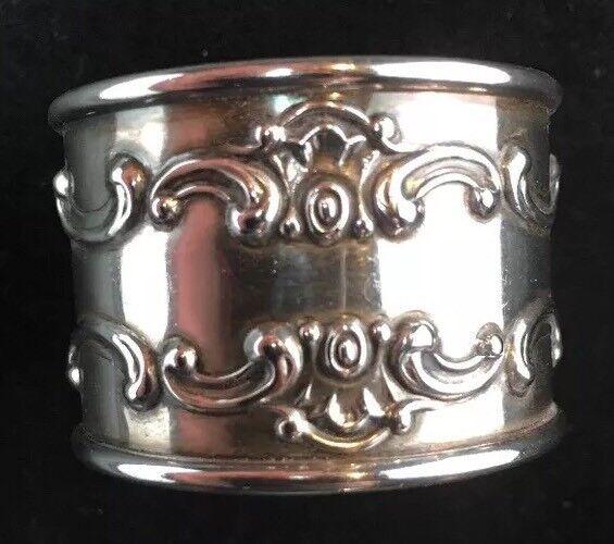 Gorham Strasbourg Sterling Silver Napkin Ring No Monogram