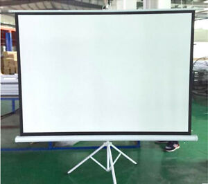"90"" Portable Tripod Projector Screen"