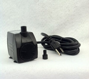 160 gph apjr600 american pond small submersible fountain pump for Best rated pond pumps