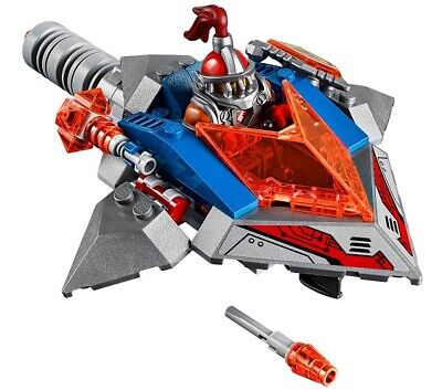 Lego Axl minifigure Nexo Knights 70323 Jestro's Volcano Lair ship shield weapon