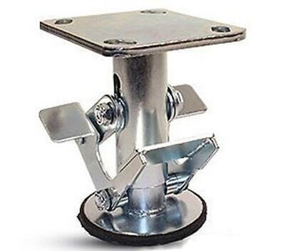 Caster Barn - 6 Inch Floor Lock - Fl60117 - 4 X 4-12 Top Plate - 7-34 - 6-1
