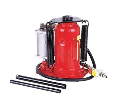 FoxHunter 20 Ton Low Profile Air Or Manual Hydraulic Bottle Jack Heavy Duty New