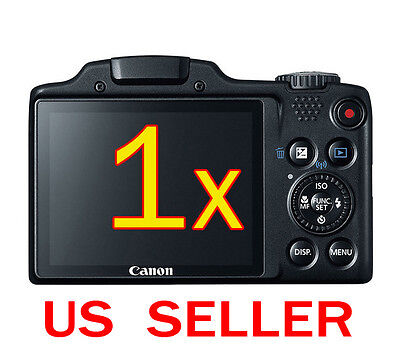 1x Canon PowerShot SX510 HS Camera Clear LCD Screen Protector Guard Shield Film
