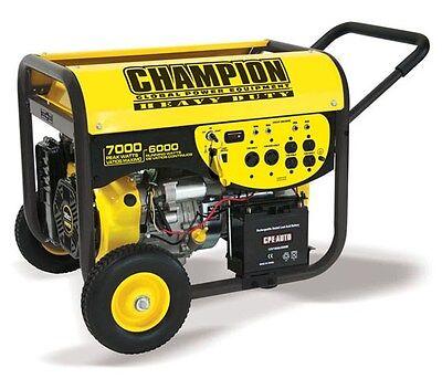 41331R - 6000/7000w Champion Power Equipment Generator - REFURBISHED