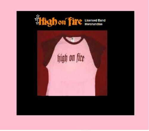 High on Fire T-Shirt Girls / Women / Juniors Medium Licensed Band Merchandise