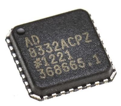 Analog Devices Ad8332acpz-r7 Dual Controlled Voltage Amplifier Differential 5 V