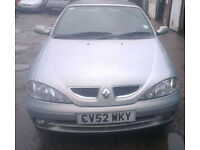 Renault Megane Front Bumper In Silver Colour (2003)