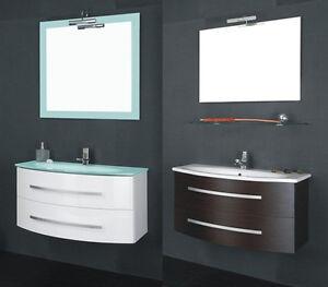 Mobile bagno in 25 colori laccato legno per arredo moderno - Arredo bagno ebay ...