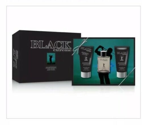BLACK EXTREME Men's 3.3oz Cologne Impression of Polo Black N