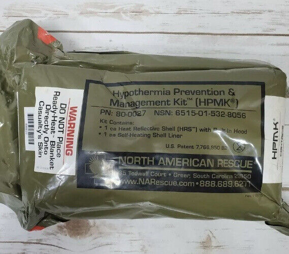North American Rescue NAR Hypothermia Prevention and Management Kit HPMK