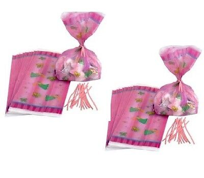 40 pc First Birthday PRINCESS BUTTERFLY FAIRY  Treat Bags Candy Bags 7-9A](Butterfly First Birthday)