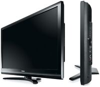 "40"" LCD tv with remote and DVD player"