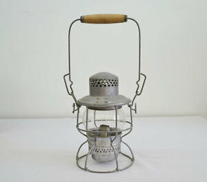 CPR KEROSENE LAMP, CLEAR GLASS, VERY GOOD CONDITION