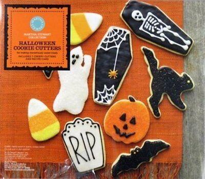 Martha Stewart Collection Halloween Cookie Cutters - Martha Halloween