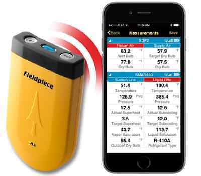Fieldpiece Jl2 - Job Link Ios Andriod App Transmitter