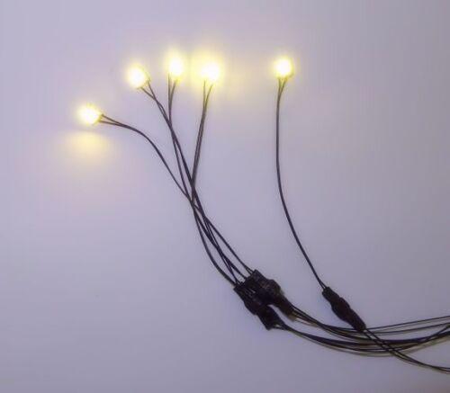 Dollhouse Five Warm White Mega LED - Super Bright Miniature Lighting
