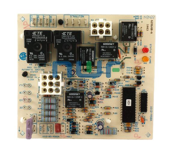 Nordyne Intertherm Miller Furnace Control Circuit Board 624602 624602-B 624602-0