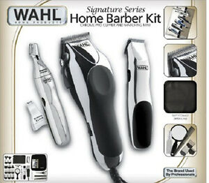 Hair Cutting Kits : Details about Wahl 30 Piece Hair Cut Home Barber Kit Trimmer Clipper ...