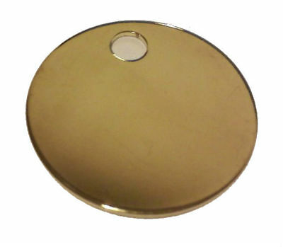 Hy-Ko KB148 Large Round Key Tag, 1-3/8