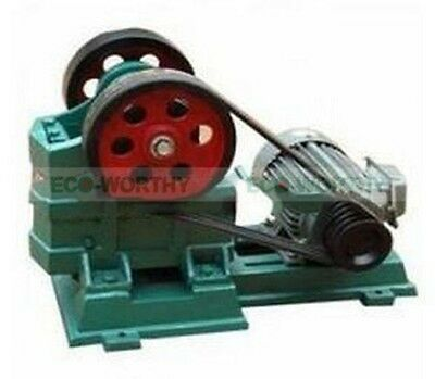 Eco 60x100 Jaw Crusher For Gold Mining Granite Concrete Gravel Rock Crushing