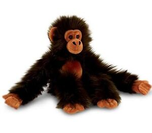 Keel-Toys-LONG-MONKEY-Chimpanzee-DARK-BROWN-Soft-Toy-50cm