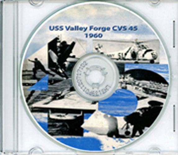 USS Valley Forge CVS 45 1960 Cruise Book LOg CRew Photos CD RARE