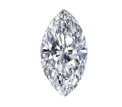 Certificate 1.03ct Marquise Excellent Cut Diamond J Color SI2 Clarity,Engagement