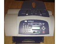 HP Printer officejet v45 all in one Colour Printer with charger and cartridge
