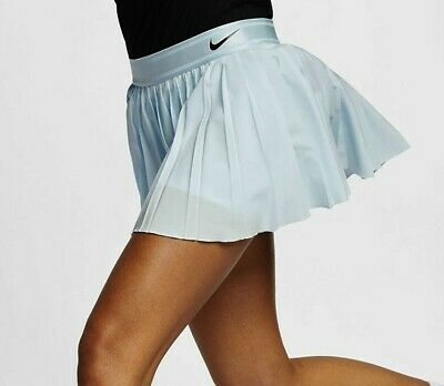 NIKE COURT VICTORY TENNIS SKIRT SKORT SIZES XS - S - M - LIGHT BLUE ()