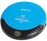 Groove Personal Cd Player - Blue - groove - ebay.co.uk