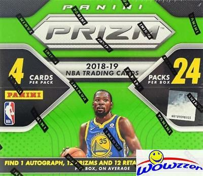 cfb4caf5fcc 2018 19 Panini PRIZM Basketball HUGE 24 Pack Retail Box-AUTO
