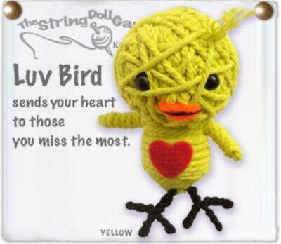 Luv Bird Kamibashi String Doll Gang Keychain