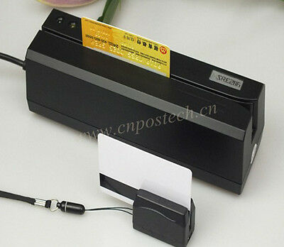 Encoder 3-track Magnetic Stripe Id Card Writer Reader Wportable Reader Mini300