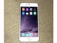 iphone in white and gold on vodafone in good condition come with box and charger