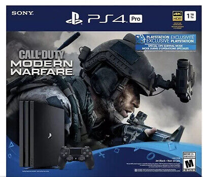 PS4 Pro 1TB Call of Duty Modern Warfare Bundle Sony PlayStation