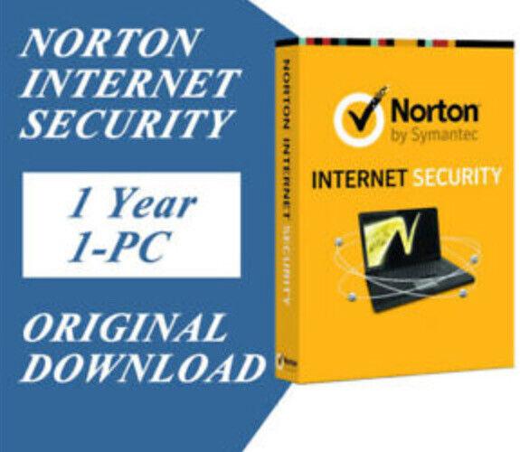 Norton Internet Security 1 Year / 1 PC Downloadable Digital Key (GLOBAL)