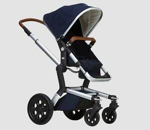 Joolz Day Pram (Earth Collection) navy with tan trim 2014 model Curl Curl Manly Area Preview