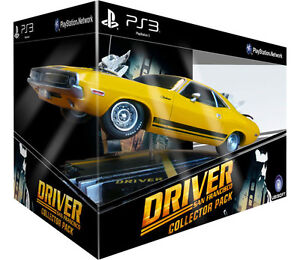 Playstation 3 DRIVER SAN FRANCISCO COLLECTOR'S DODGE CAR PACK NEW PS3 * NO GAME!