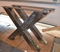 Custom Welding fabrication, welding repair and metal table legs