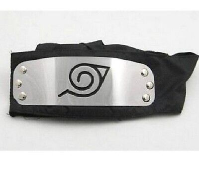On Sale Hot Sale For NARUTO LEAF Black Headband Head Band Cosplay New - Naruto Headbands For Sale