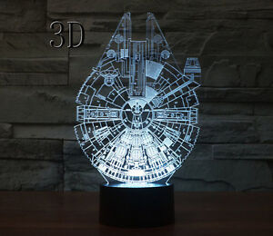 3D Star wars lamps 100% NEW