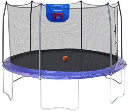 Skywalker Trampolines Jump N Dunk Trampoline With Safety Enc